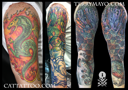 Tattoos - Turtle Coverup - 93685